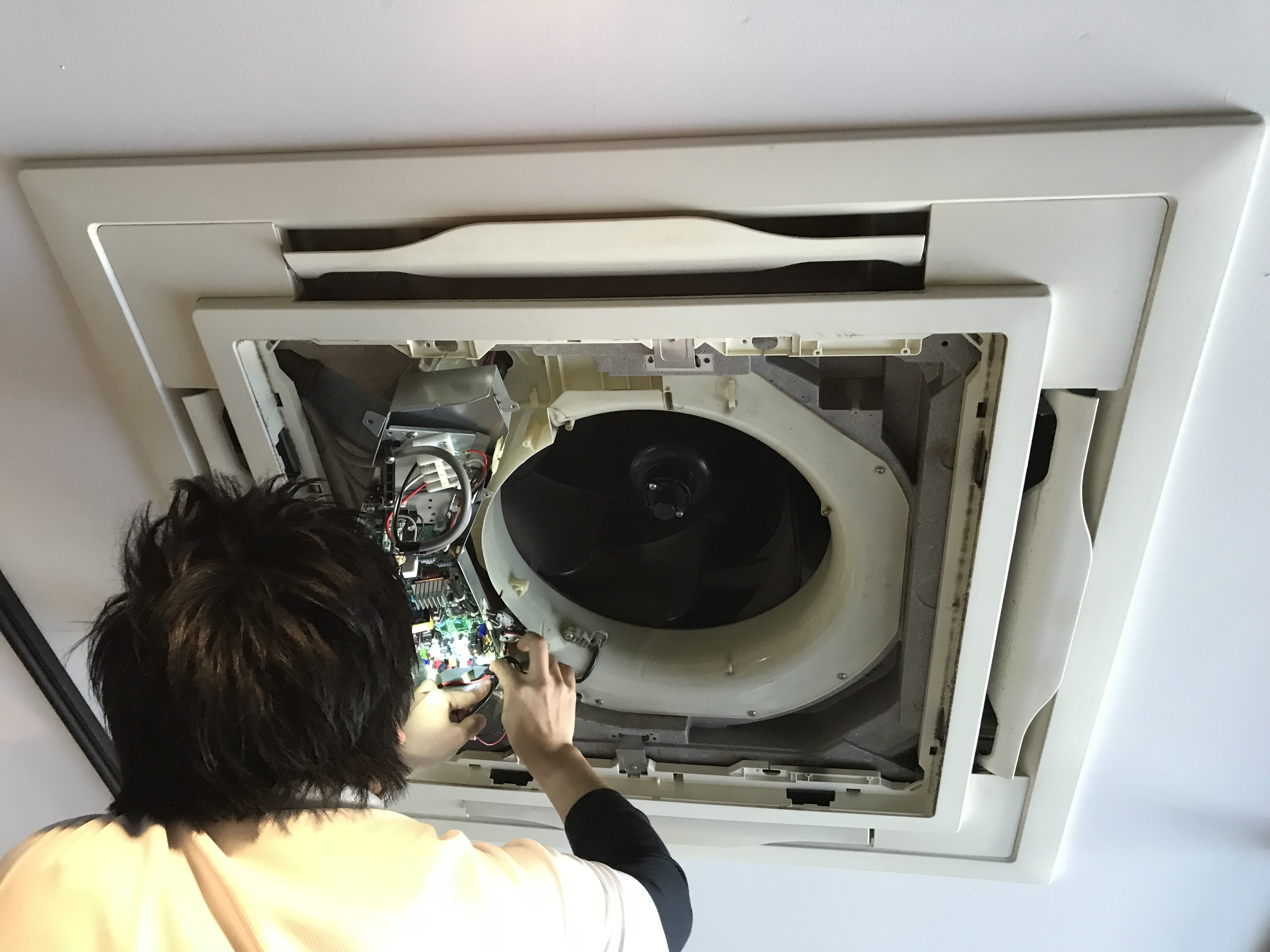 天井埋込型クリーニング オールセットプラン